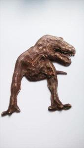 レリーフ 恐竜